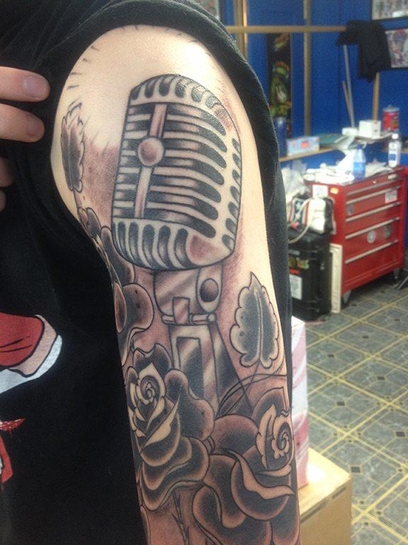 microphone_tattoo
