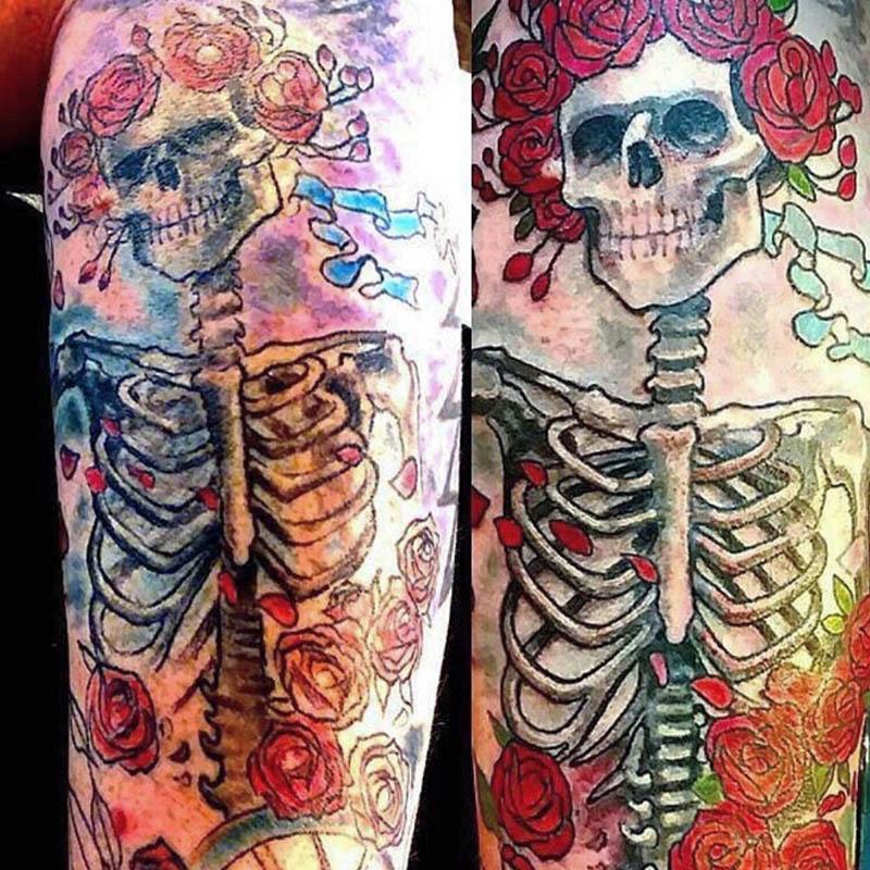 bertha grateful dead tattoo